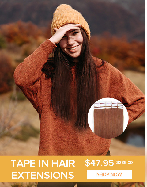 2020 Autumn hair extensions tape in