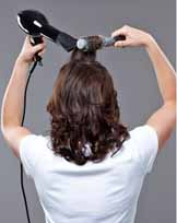 How to wear clip in hair extensions,Step One